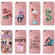 American TV Riverdale Jughead Jones style soft Silicone Cover Case For iPhone 7 6s 8 8Plus X XR XS 11 Pro For Samsung Galaxy S7(China)