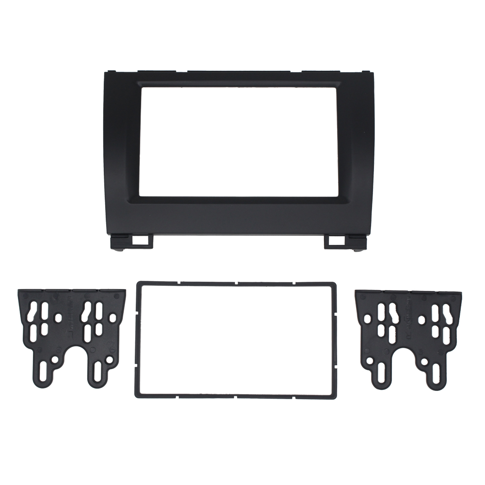 11-274 Car Radio Fascia For GREAT WALL Hover (Haval) H3 H5 X240 Stereo Double 2 Din Fascia Frame Dash CD Trim Installation Kit 11 405 car radio dash cd panel for kia skoda citigo volkswagen up seat mii stereo fascia dash cd trim installation kit