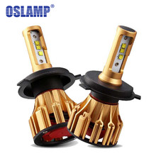 Oslamp SMD Led H4 Headlight H7 LED 6500K White Automobile 9005 9006 Front Car Bulbs Led H11Car Lamp HB3 HB4 H1 Bulbs All-in-one(China)