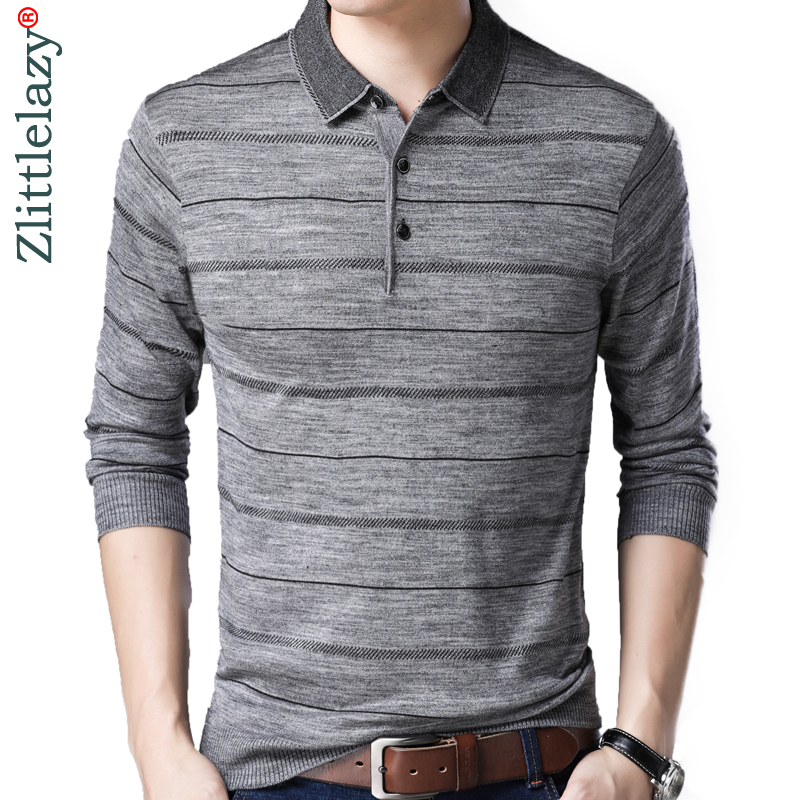 2018 brand casual long sleeve us   polo   tee shirt men classic clothes striped mens   polos   shirts fashions poloshirt jersey 36977