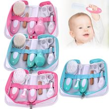 1 Set Portable Newborn Children Care Grooming Baby Nursing Kit Nail Clippers Trimmer Brush Comb Soft Professional Tool