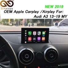 Sinairyu voiture multimédia A3 3G MMI Smart Apple CarPlay boîte OEM Apple Carplay Android Auto IOS Airplay rénovation pour Audi