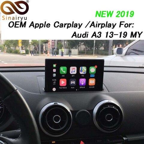 sinairyu a3 3g mmi multimidia carro inteligente maca carplay caixa oem maca carplay android auto
