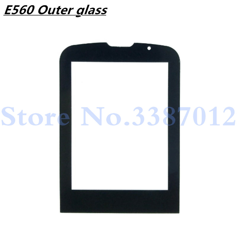Front Glass Lens For <font><b>Philips</b></font> <font><b>Xenium</b></font> <font><b>E560</b></font> E-560 Glass lens Not Touch Screen With Tracking Number image