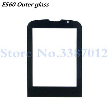 Lente de Cristal frontal para Philips Xenium E560 E-560 lente de cristal no pantalla táctil con número de seguimiento