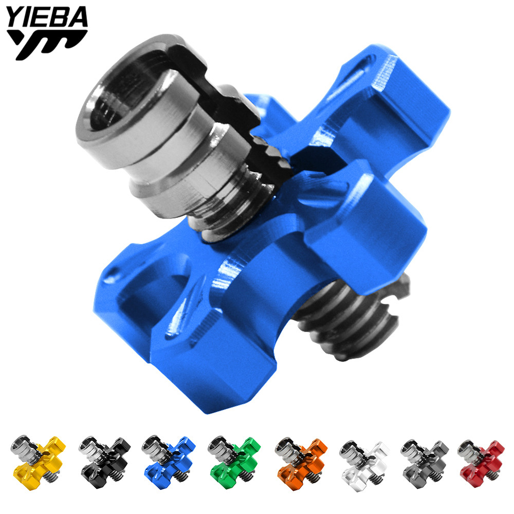 Motorcycle M8*1.25CNC Clutch Cable Wire Adjuster Screw for Yamaha YZF R125 YZF R15 YZF R25 R3 MT-02 MT-25 YZF R1/R1M KTM 65SX