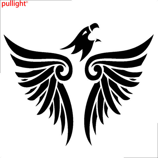 US $7 7 30% OFF|Car Flying Eagle Wings Animal Hood Decals Vinyl Tribal  sticker-in Car Stickers from Automobiles & Motorcycles on Aliexpress com |