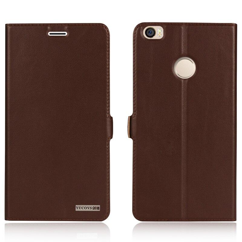 Цена за 2016 Новый Обложка Case Для Xiaomi Mi Max Mmax Высочайшее Качество природные Натуральная Кожа Магнит Флип Стенд Мобильный Телефон Сумка + Бесплатный подарок