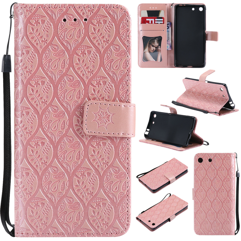 PU Leather Stand Cover for SONY Xperia M5 Case Luxury Wallet Flip Card Slot Armor for Sony Xperia M5 Cover Coque Sony M5 Cases