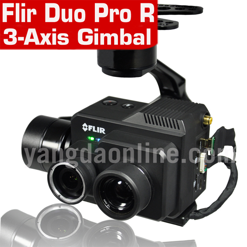 Flir Duo Pro R Thermal Camera Gimbal For UAV Quadcopter Photograph Recording Tracking 3 Axis