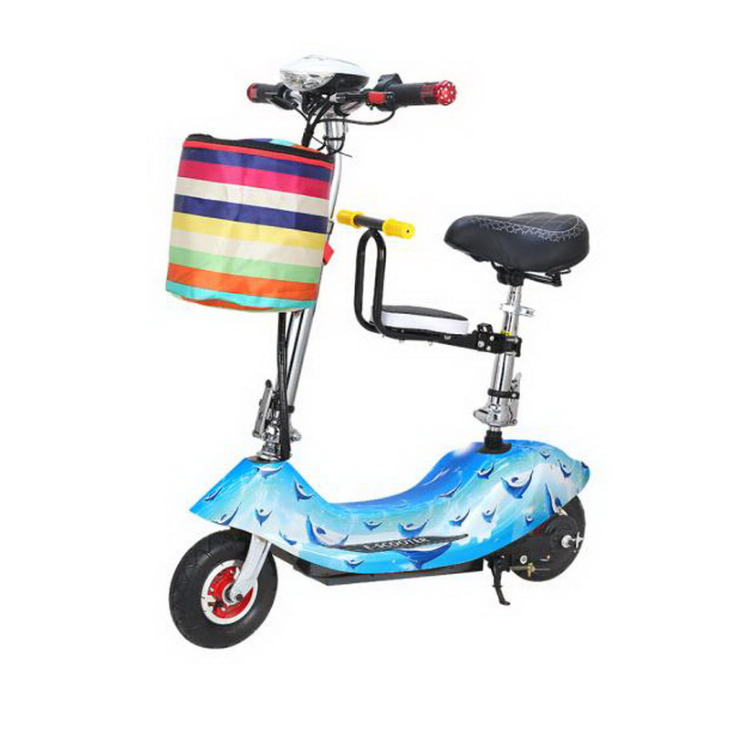 Discount 261025/Ladies mini folding car bicycle scooter adult student portable two rounds/Scrub pedal 30-50km/h velo electrique 4