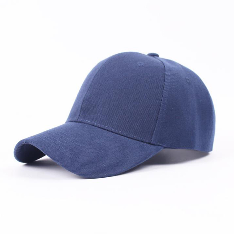 Dance Hall Customer Adult W Cotton Children Outdoors Sunscreen Sun Hat Solid Color Light Panel Baseball Hat Male Summer Caps