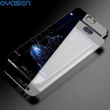 цена на Full Cuverd Tempered Glass For Huawei P10 Lite Plus 3D Full Cover All Glue Screen Protective Glass Film For Huawei P10 Plus Lite