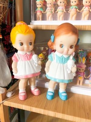 Japan Cute Vintage Doll Toy Adorable Baby Kids European Vintage Doll Girl Kids Gift Children Room Decoration Collection Afrocat