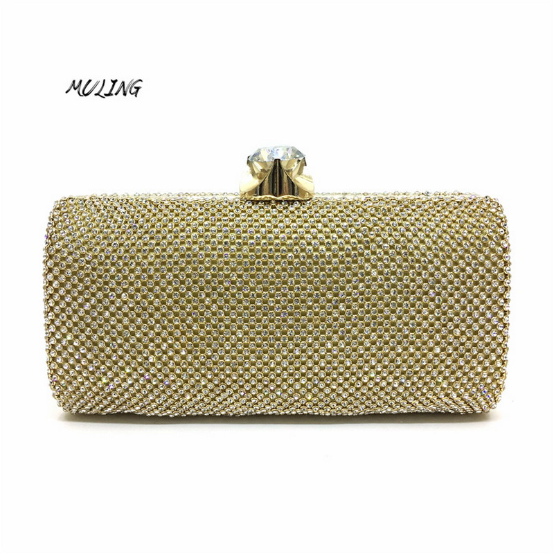 Clutches Bag Women Luxury Full Diamond Small Bag Wedding Party Bags Cross Body Handbags Girl Lady Evening Shoulder Bag Purse стоимость