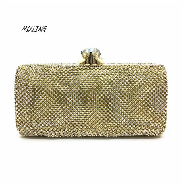 Clutches Bag Women Luxury Full Diamond Small Bag Wedding Party Bags Cross  Body Handbags Girl Lady Evening Shoulder Bag Purse 38bca73dd7b5d