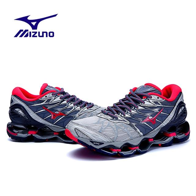 Оригинальный Mizuno Wave Prophecy 7 Professional Для женщин кроссовки стабильный спортивные кроссовки сетки вентиляции Вес Подъема Обувь