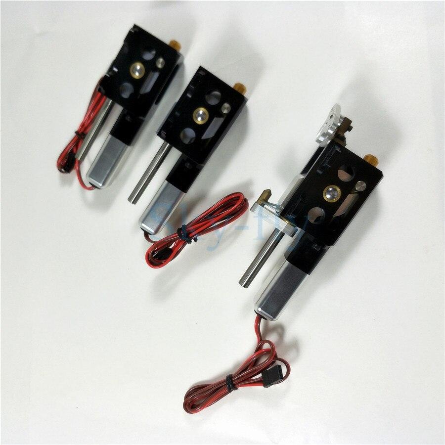 3 st Set CYS R2090 90 Graden Elektrische Roterende Intrekken Landingsgestel Voor 6.0 ~ 12 kg Straalturbinemotoren RC Vliegtuig-in Onderdelen & accessoires van Speelgoed & Hobbies op  Groep 2