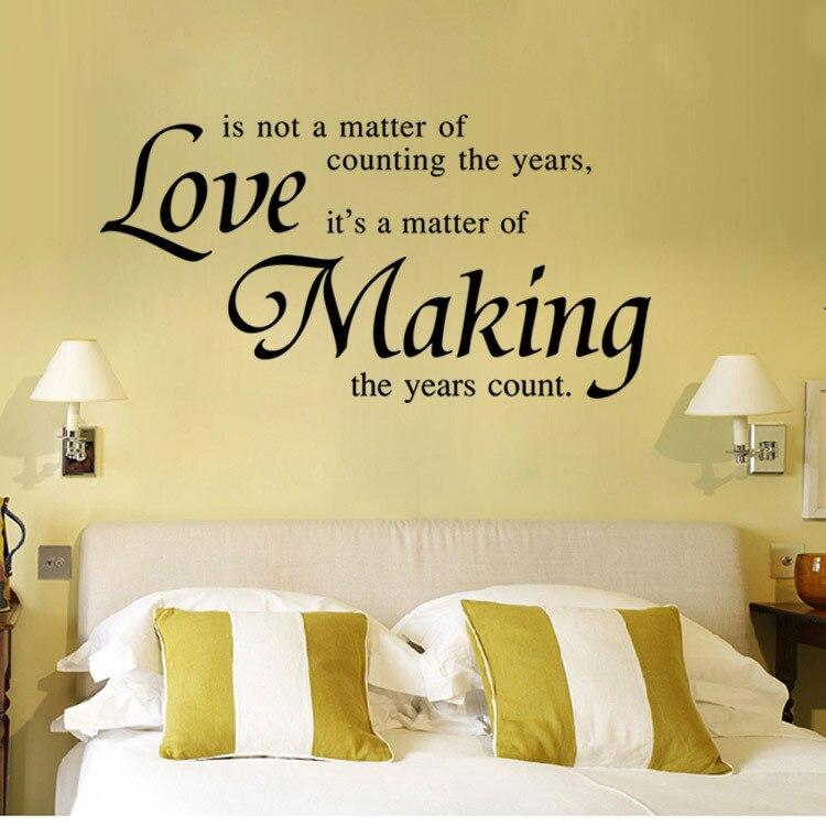 Decors Art decal PVC 3D love making Tatoos Wall Sticker Home ...