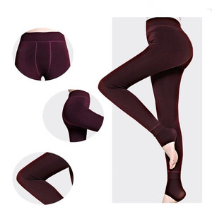 Image 3 - SVOKOR Warm Leggings Two Pieces Of Ultra Low Price Big Size Women Autumn Winter High Elasticity And Good Quality Thick Velvet
