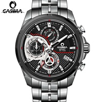 CASIMA Luxury Brand Watches Men S Fashion Stainless Steel Men S Watches Men S Quartz Watch
