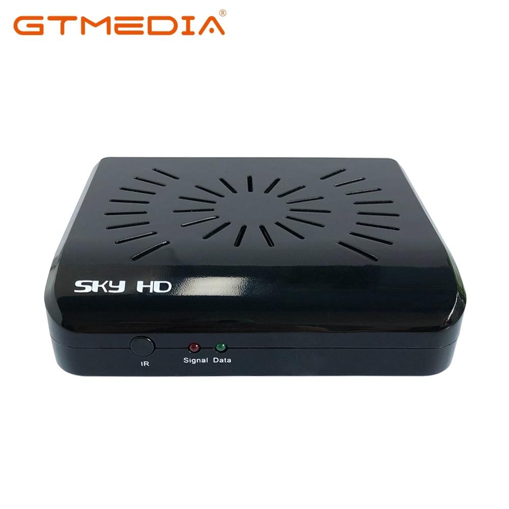 Standard SKY HD K2 DVB-S FTA Receptor Tuner 300 Channels TV Programmable Automatic PAL/NTSC Conversion MPEG-1 MPEG-2 For Free TV