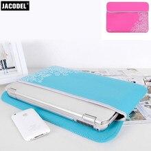 Jacodel Laptop Sleeve Bag for Macbook Samsung Lenovo Tablet Funda Ordenador Portatil 15 6 Inch Notebook