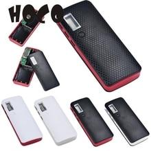 Caixa de Bateria Carregador para Iphone 1 PCS Moda 3 Portas USB 5 V 2A 5×18650 Banco de Potência 7 Outubro 12 8 *