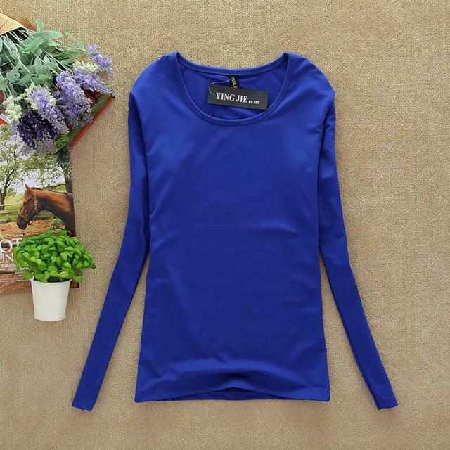 New T Shirt Women Long Sleeve Winter Tops Fashion 2020 T-shirts For Women Thermal Underwear Female T-shirt Camisas Femininas 2