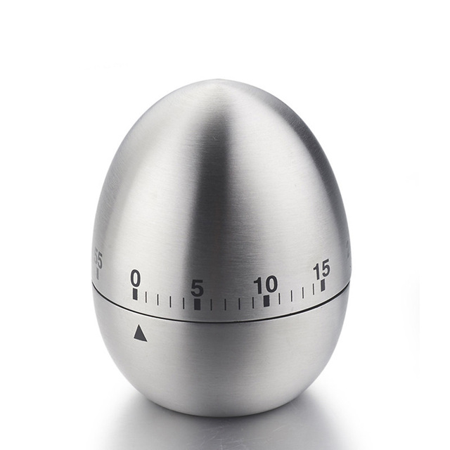 Aliexpress.com : Buy Kitchen Supplies Stainless Steel Egg Clock ...