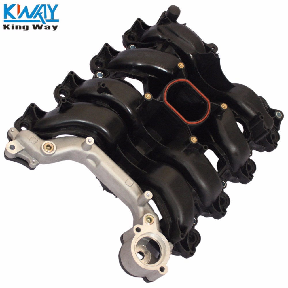 Intake Manifold w// Thermostat /& Gaskets Kit FIT For Ford Lincoln Mercury 4.6L V8