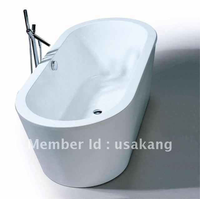Italian Design Freestanding Acrylic Bathtub UK 014