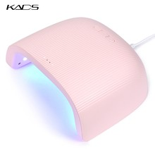 KADS 48W Nail Lamp UV Led Nail Dryer Gel Led Lamp for Manicure Gel Polish Curing Machine 30s 60s 90s Setting With 18 LEDS Light(China)