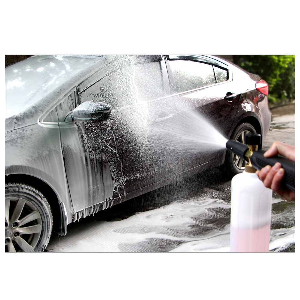Car-Styling Foam Gun Car Wash Pressure Washer Jet Wash 1/4 Quick Release Adjustable Snow Foam Lance Foam Cannon Tools