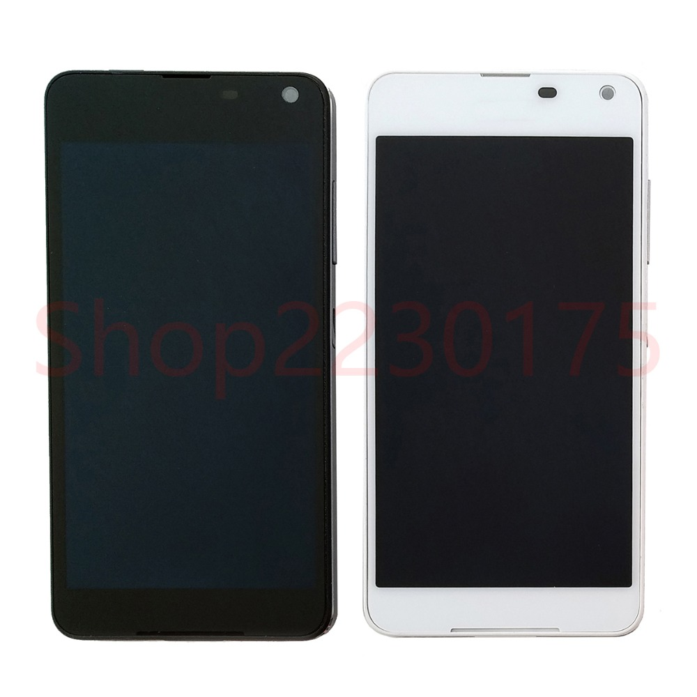 Para Nokia Lumia 650 RM-1152 RM-1154 RM-1109 RM-1113 LCD Screen Display Toque Digitador Assembléia Peças de Reposição do Quadro