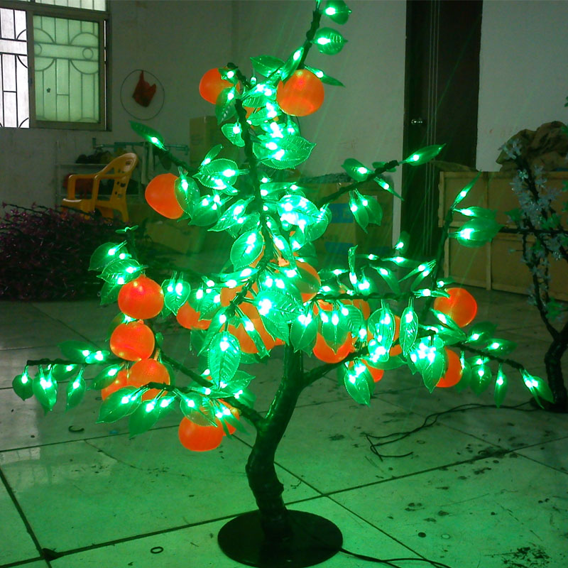 0.8Meter 200LEDS artificial christmas trees with led lights