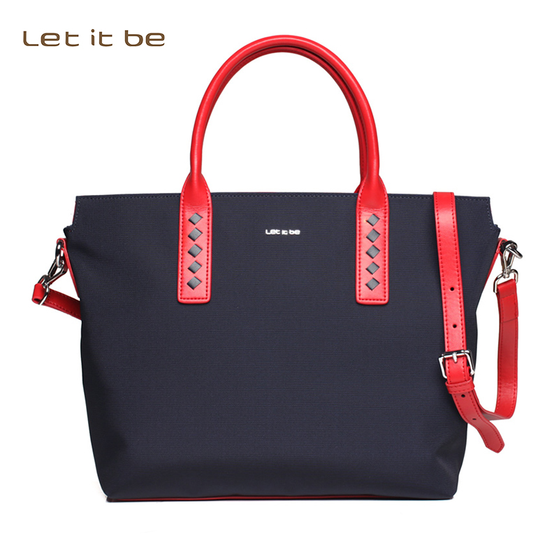 2016 Let it be brand weave handbags oxford nylon crossbody bag for girls messenger bolsa rauf kuliyev let it be so a
