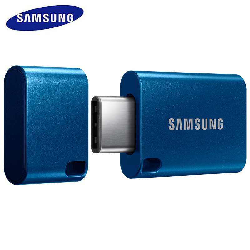 SAMSUNG USB Flash Drive 64G USB 3.0 Type c Metal Super Mini Pen Drive Tiny Pendrive Memory Stick Storage  U Disk For usb type-c usb flash drive