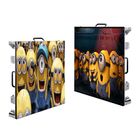 p4.81 smd full color stage background rental led screen wall outdoor led video display panels