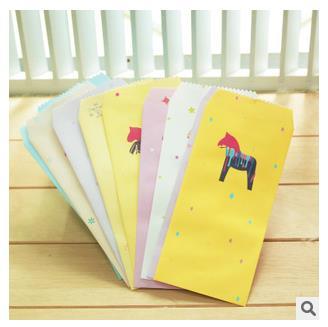 Office & School Supplies Süß GehäRtet Korea Schreibwaren Großhandel Verrückte Pony Papierumschläge Papierumschläge