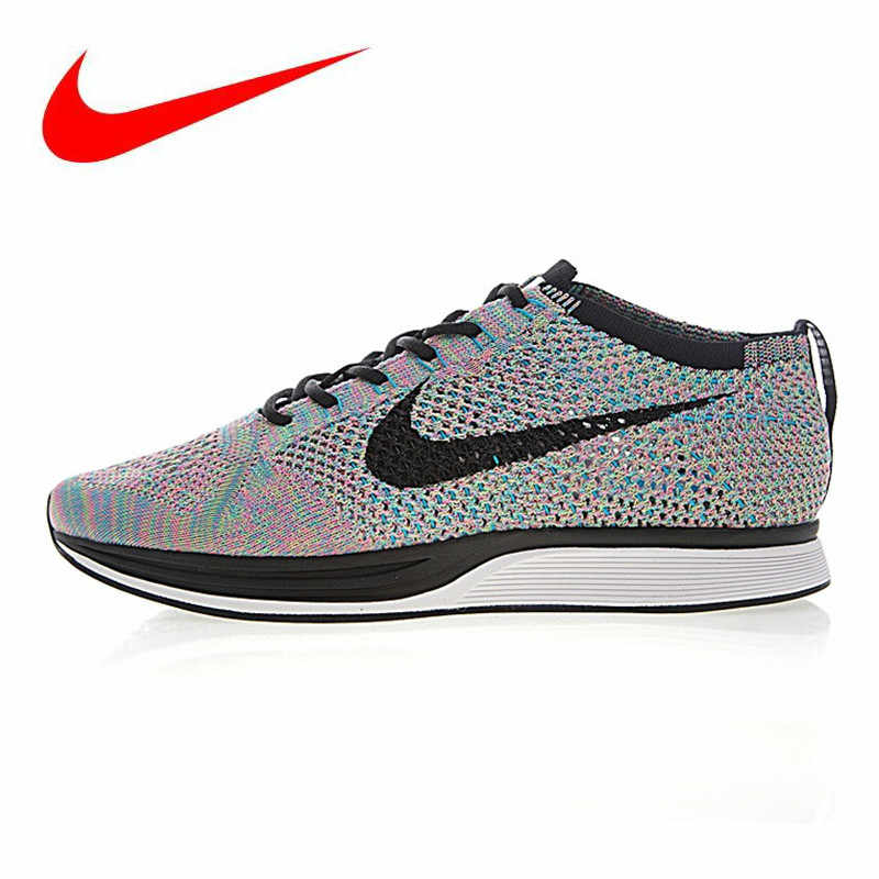 the latest ab676 3fd89 Nike Flyknit Racer Men s and Women s Running Shoes, Shock-absorbing,  Non-slip