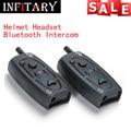 Hot sale best quality 2 X Bluetooth Intercom Climder C3 FM BT Motorcycle Motorbike interphone Helmet Intercom free shipping