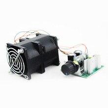 Универсальный Автомобильный Электрический турбинный турбо зарядное устройство Tan Boost воздухозаборник вентилятор 12 В ACE60 3.2A с потенциометром крышки