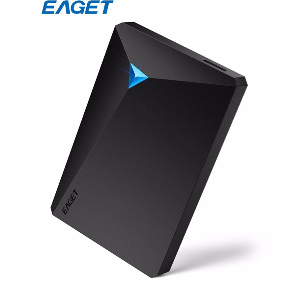 EAGET G20 HDD USB3.0 External Hard Drive 1T 2.5 USB 3.0 Interface Encryption Hard Disk High Speed For Desktop Laptop Computer ...
