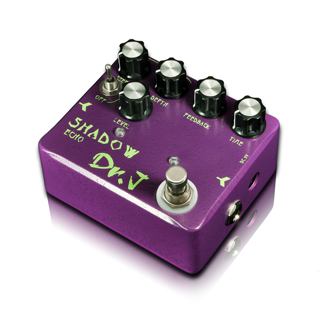 Cheap Dr.J D54 SHADOW ECHO guitar effect pedal that follows like a shadow Hovering between reality and magic True Bypass free shipping