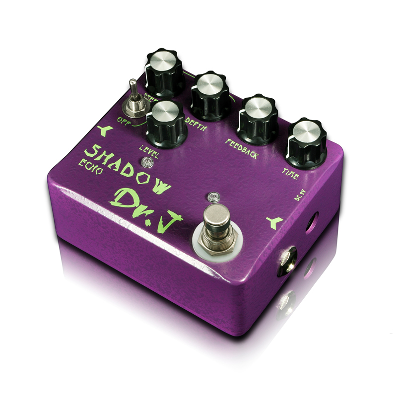 Dr.J D54 SHADOW ECHO guitar effect pedal that follows like a shadow Hovering between reality and magic True Bypass free shipping mooer ensemble queen bass chorus effect pedal mini guitar effects true bypass with free connector and footswitch topper