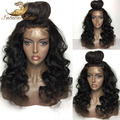 8A Unprocessed Virgin Brazilian Full Lace Wigs Human Hair With Baby Hair Natural Wave Glueless Full Lace Front Wigs