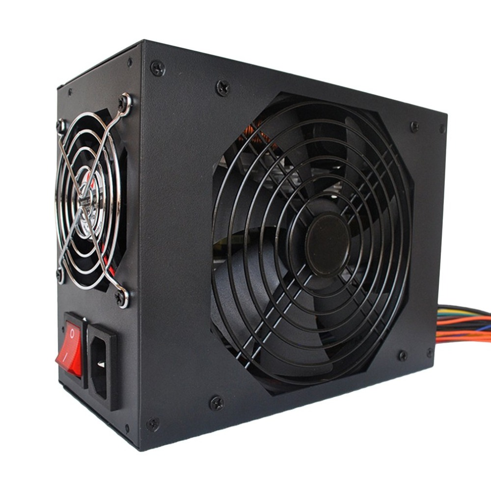 2800W font b Mining b font Power Supply Support 12 13GPU PFC Active High Efficiency Computer