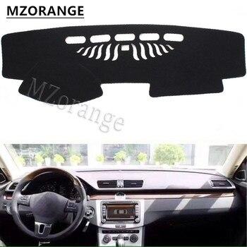 Mzorange painel do carro cobre esteira para volkswagen para vw passat b6 2006-2015drive dashmat almofada traço capa acessórios de automóvel