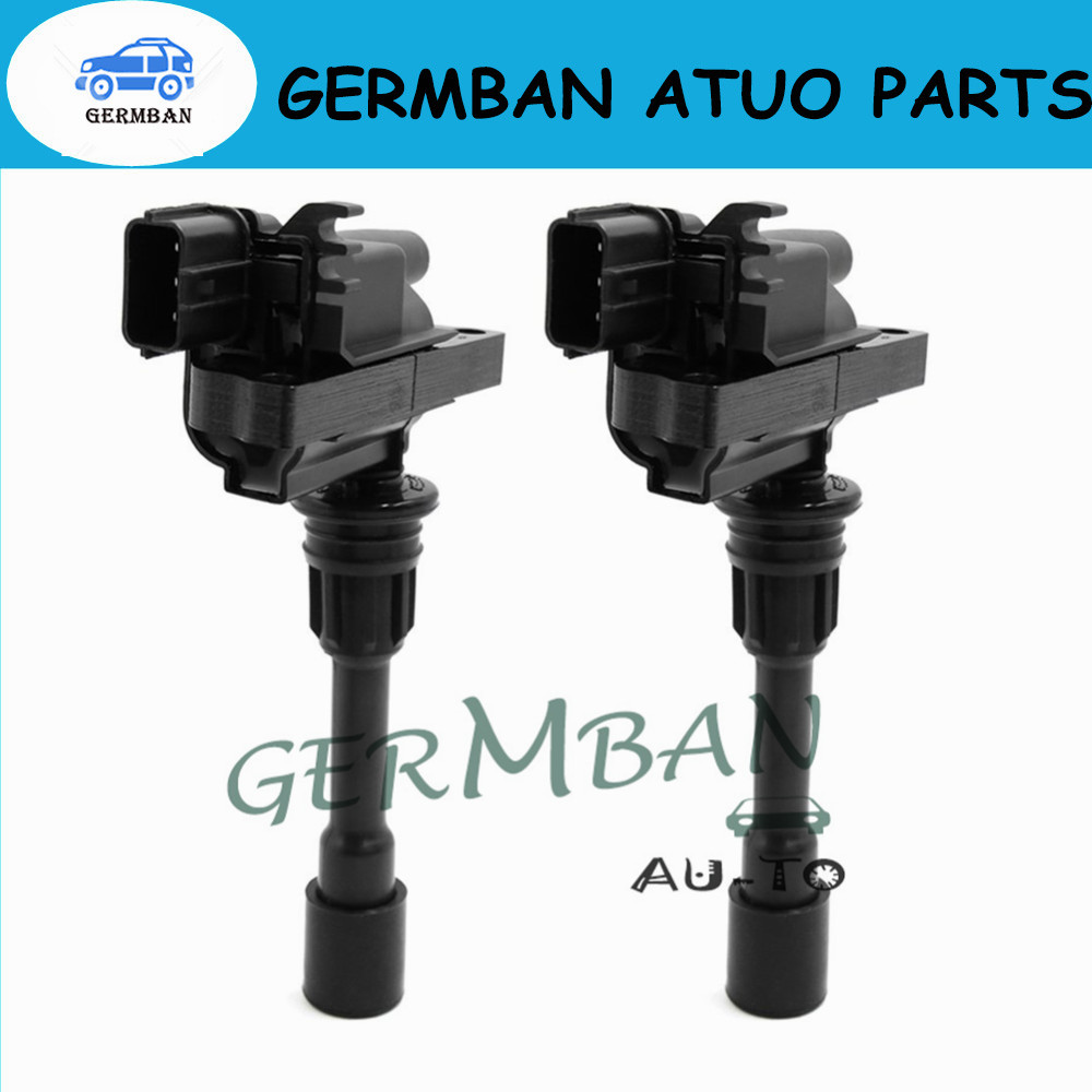 New Manufactured Ignition Coil 2sets FP85 18 100C FFY1 18 100 Fits Mazda 323 1.8 Astina Protege Premacy 1.9 2.0